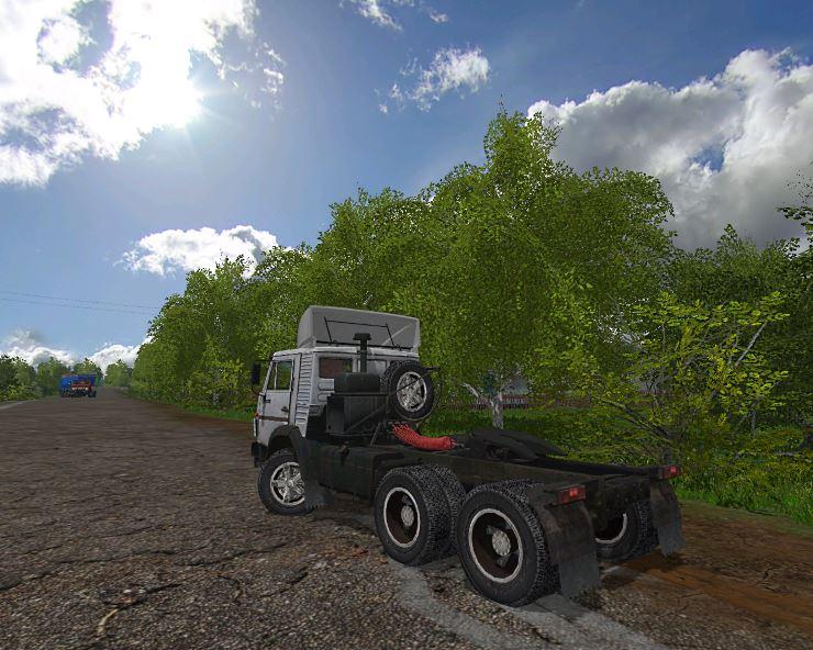 Мод Камаз-5410 v 1.1 для Farming Simulator 2017