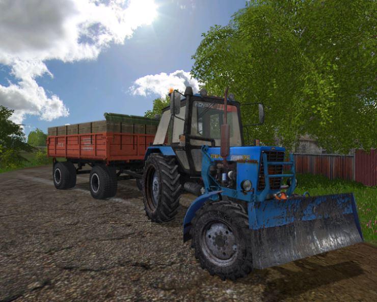 Мод Беларус-МТЗ Пак v 1.0 для Farming Simulator 2017