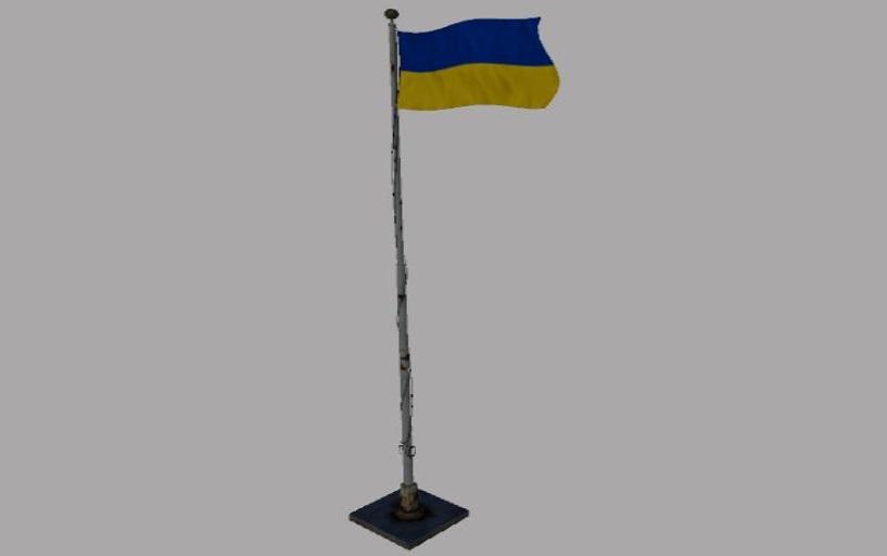 Мод Флаг Украины v 1.0 для Farming Simulator 2019