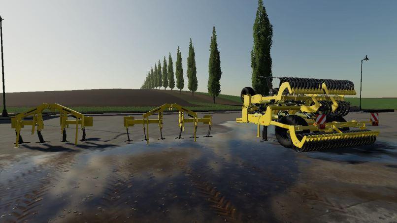 Мод Agrisem Plow Pack v 1.0 для Farming Simulator 2019