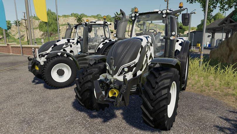 Мод Valtra T Series Cow Edition v 1.0 для Farming Simulator 2019