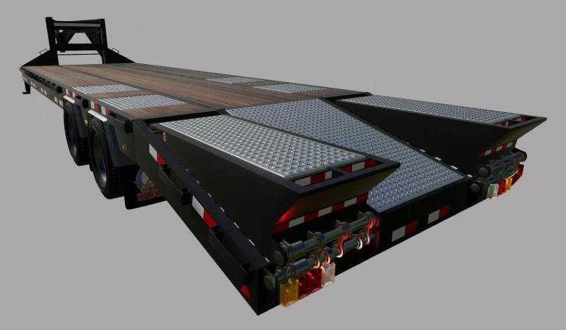 Мод Big Tex Trailer 22GN/PH v 1.0.2.0 для Farming Simulator 2019
