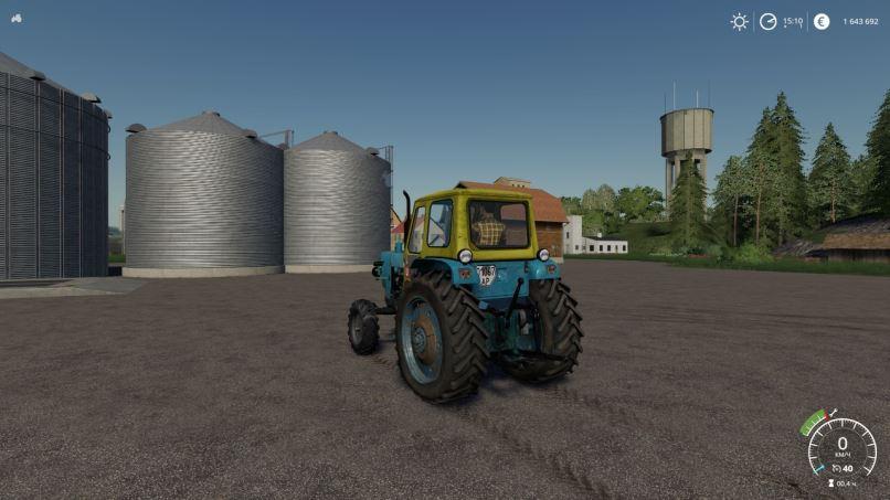 Мод ЮМЗ-6Л v 1.0 для Farming Simulator 2019