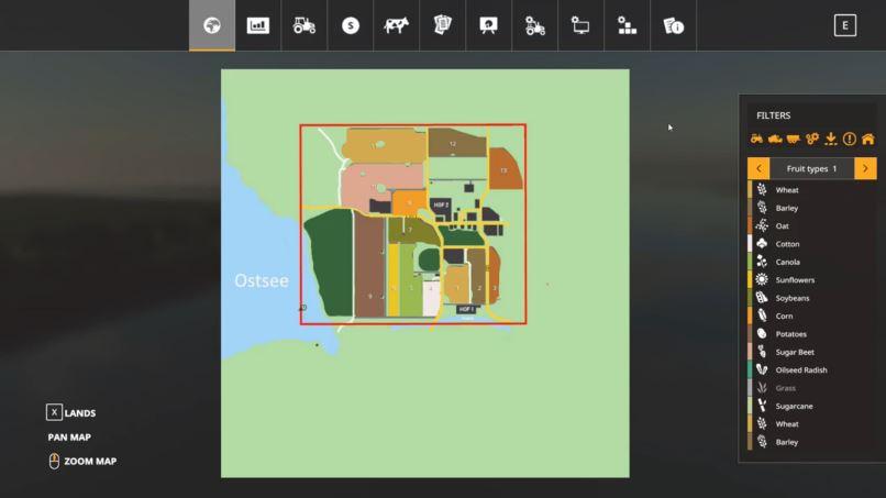 Мод Карта Birkenfeld an der Ostsee v 1.0 для Farming Simulator 2019