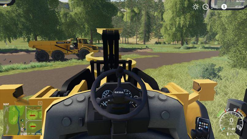 Мод Volvo L220H with bucket v 1.1 для Farming Simulator 2019