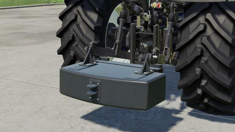 Мод Tenwinkel Rearweights Package v 1.0 для Farming Simulator 2019