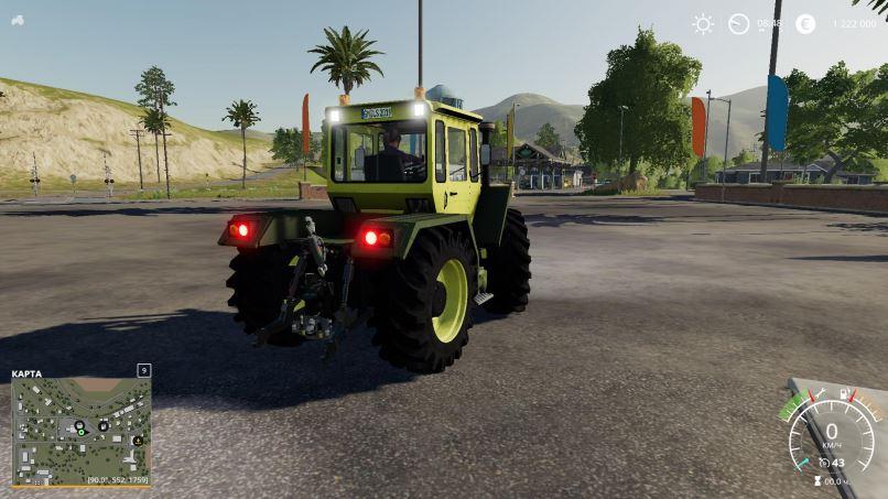 Мод GFB/MB Trac v Beta для Farming Simulator 2019