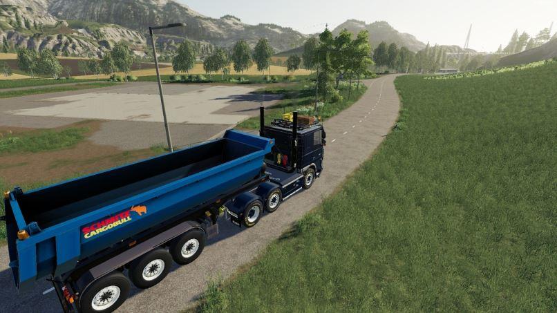 Мод DAF 105 XF Truck v 1.1 для Farming Simulator 2019