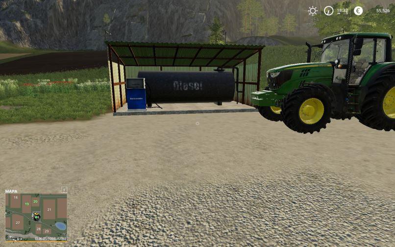 Мод FuelTank placeable v 1.0 для Farming Simulator 2019
