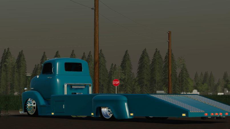 Мод 48 Chevy ramp truck and 71 Chevy C10 v 0.2.0.0 для Farming Simulator 2019