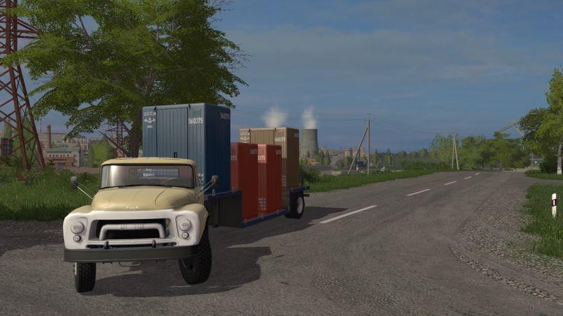 Мод Набор модификаций ЗиЛ v 1.0.0.2 для Farming Simulator 2017