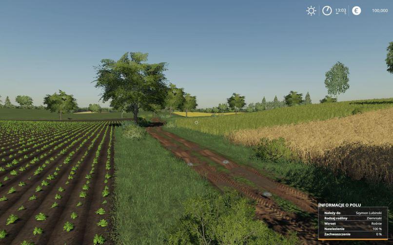 Мод Карта Lipinki Map v 3.1 для Farming Simulator 2019