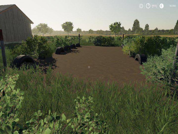 Мод Small Bunker Silo v 1.0 для Farming Simulator 2019