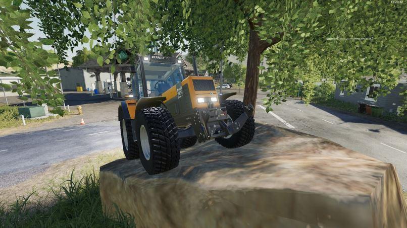 Мод Renault 100-54 to 180-94 v 1.0 для Farming Simulator 2019