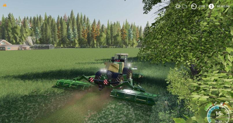 Мод Krone big M500 v 1.0 для Farming Simulator 2019
