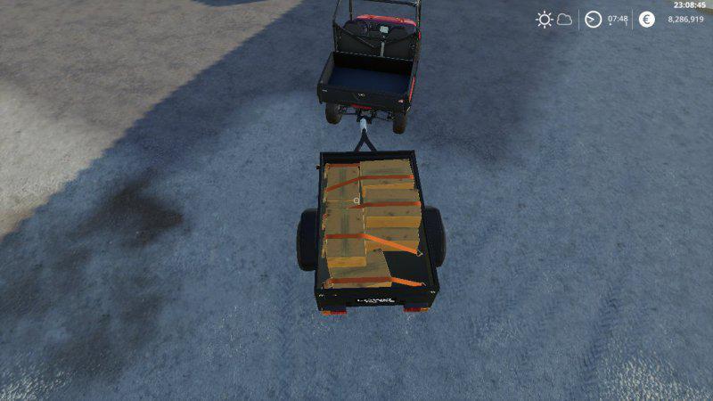 Мод Mahindra trailer v 1.1 для Farming Simulator 2019