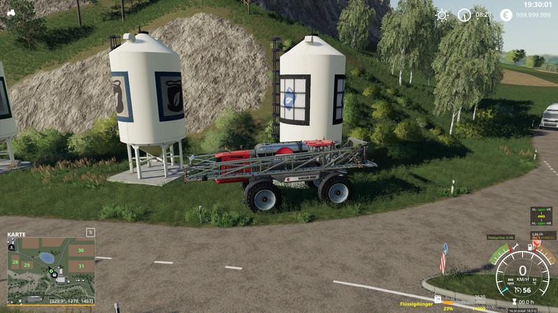 Мод Rubicon T Multicolor v 1.3 beta для Farming Simulator 2019