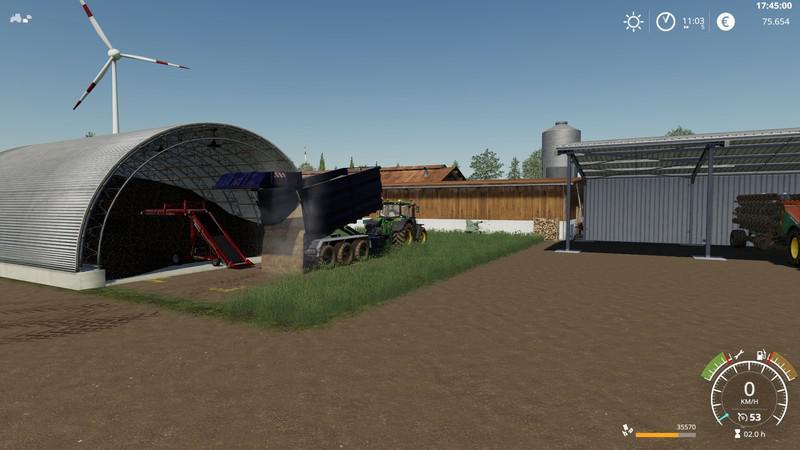 Мод Root Crop Storage v 1.0.0.2 для Farming Simulator 2019