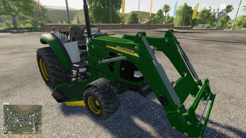 Мод John Deere 2032R v 1.0 для Farming Simulator 2019