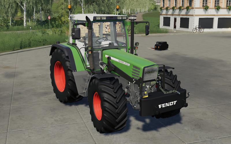 Мод Self made 700KG weight v 1.0 для Farming Simulator 2019