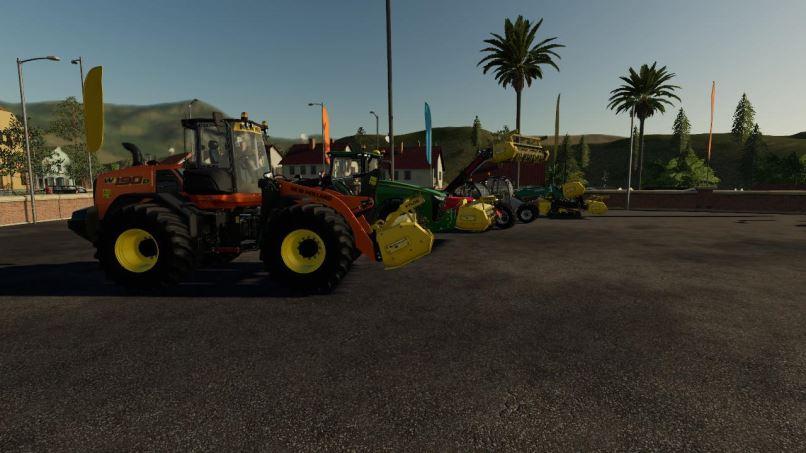 Мод Stump Grinder Rabaud Xylor v 1.0 для Farming Simulator 2019