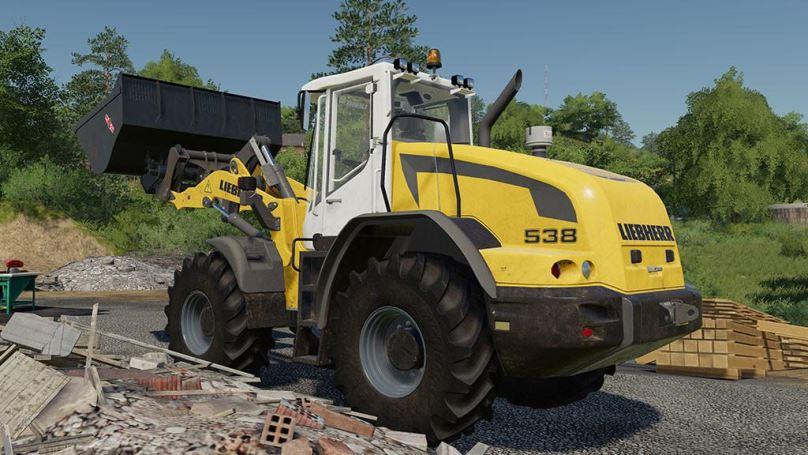Мод Liebherr L538 v 1.0 для Farming Simulator 2019