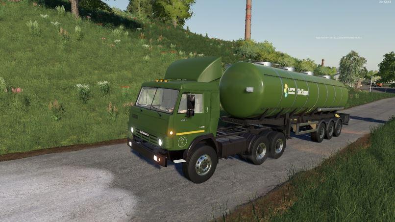 Мод Камаз-5410 v 1.0 для Farming Simulator 2019