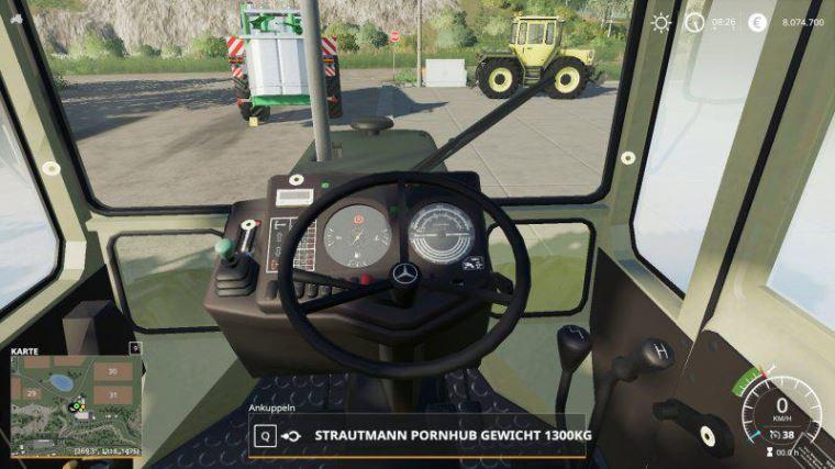 Мод MB Track 700-900er Serie v 1.0 Beta для Farming Simulator 2019