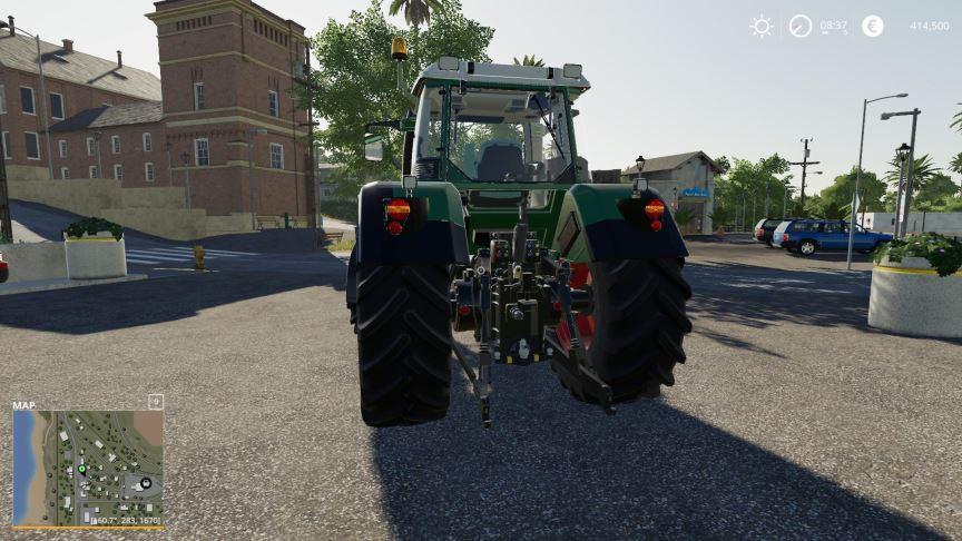 Мод Fendt 815-820 Vario TMS v 1.0 для Farming Simulator 2019