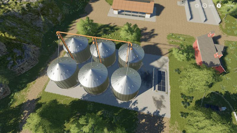 Мод Farm Silo XLarge v 1.2 для Farming Simulator 2019