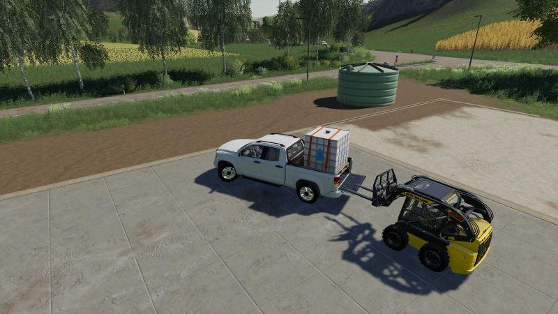 Мод IBC Water 1000L v 2.1 для Farming Simulator 2019