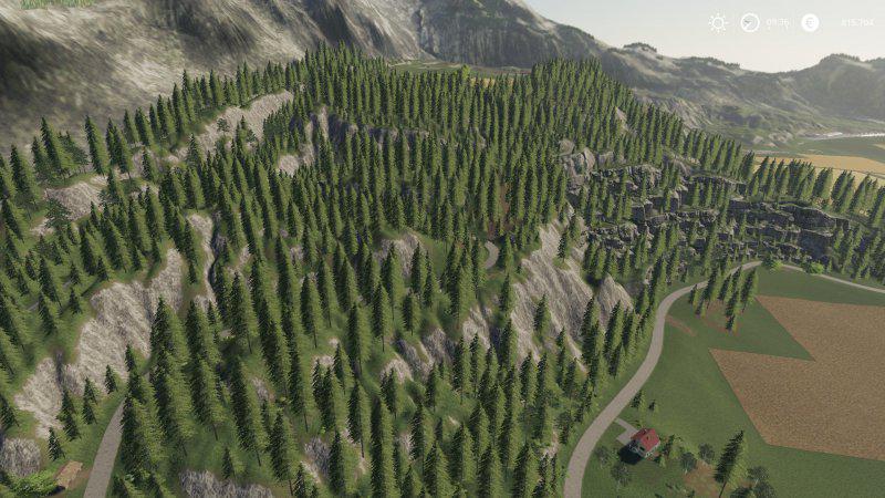 Мод Felsbrunn SunnyFarmingLS v 1.0.0 edit для Farming Simulator 2019