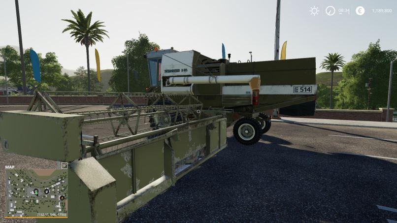 Мод Fortschritt E-514 Pack v 1.0 для Farming Simulator 2019