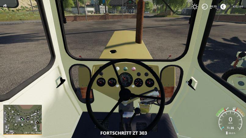 Мод Fortschritt ZT300-D and ZT303-D v 1.0 для Farming Simulator 2019
