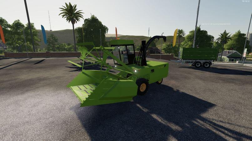 Мод Fortschritt E-281 v 1.0 для Farming Simulator 2019