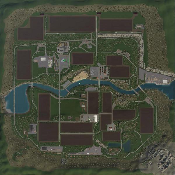 Мод Карта Landkreis Breisgau v 1.2 для Farming Simulator 2019