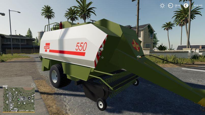 Мод Fortschritt K-550 v 1.0 для Farming Simulator 2019