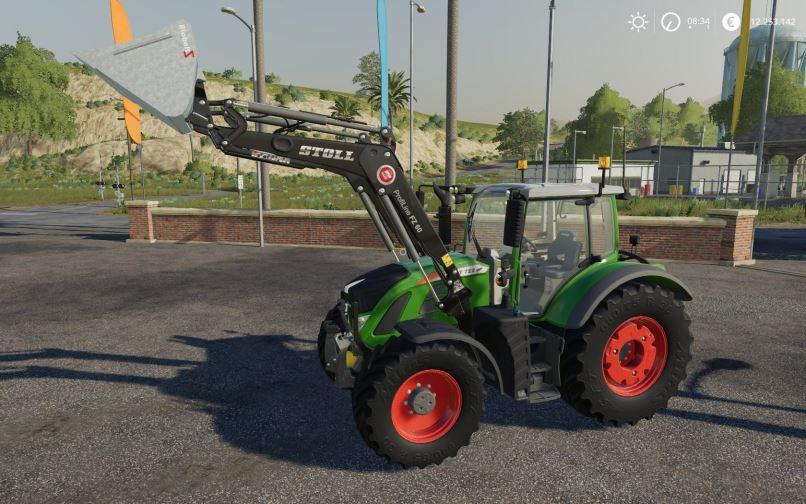 Мод Fendt 718 - 724 Vario S4 v 1.1.1 для Farming Simulator 2019