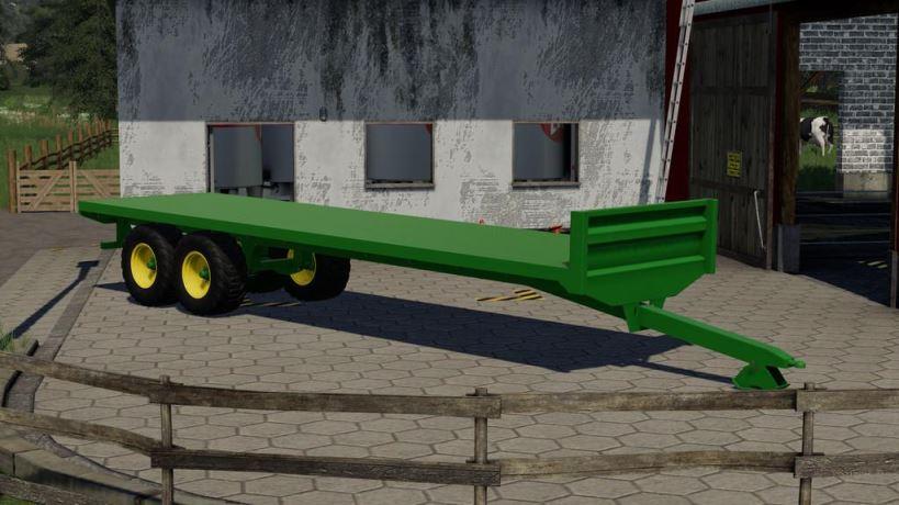 Мод Bale Trailer 9,75M v 1.0 для Farming Simulator 2019