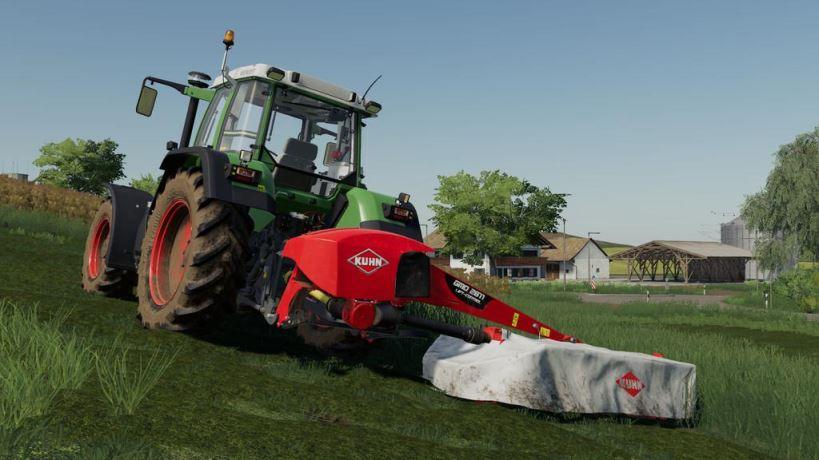 Мод Kuhn GMD 2811 v 1.0 для Farming Simulator 2019