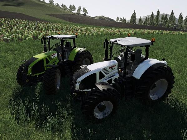 Мод Claas Axion 900 v 1.0.1.0 EDIT для Farming Simulator 2019