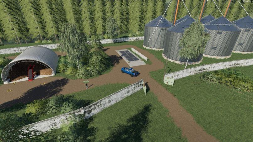 Карта Карта Простоквашино v 2.0.19 для Farming Simulator 2019