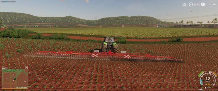 Мод Einbock Aerostar Rotation 2400 v 1.0 для Farming Simulator 2019