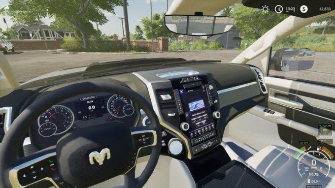 Мод Dodge Ram 1500 Rebel v 1.1 для Farming Simulator 2019