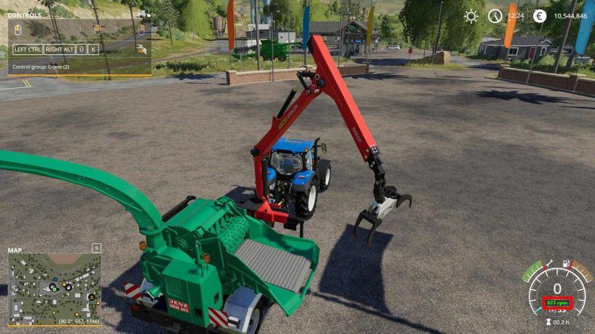Мод Скрипт Work RPM v 1.4 для Farming Simulator 2019