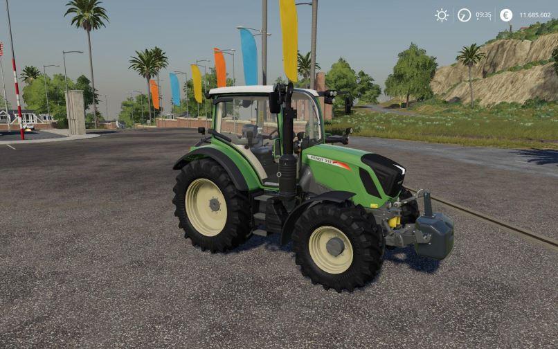 Мод Fendt 310 - 313 Vario Serie v 1.1 для Farming Simulator 2019