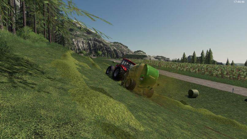 Мод Krone Fortima 1500 v 1.1 для Farming Simulator 2019