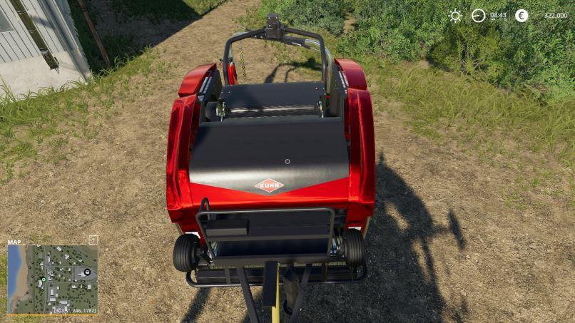 Мод Silage baler with 10 meter width v 1.0 для Farming Simulator 2019