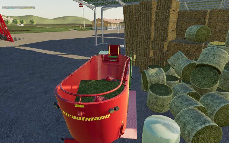 Мод Strautmann VertiMix 1702 Autoload v 1.0 для Farming Simulator 2019
