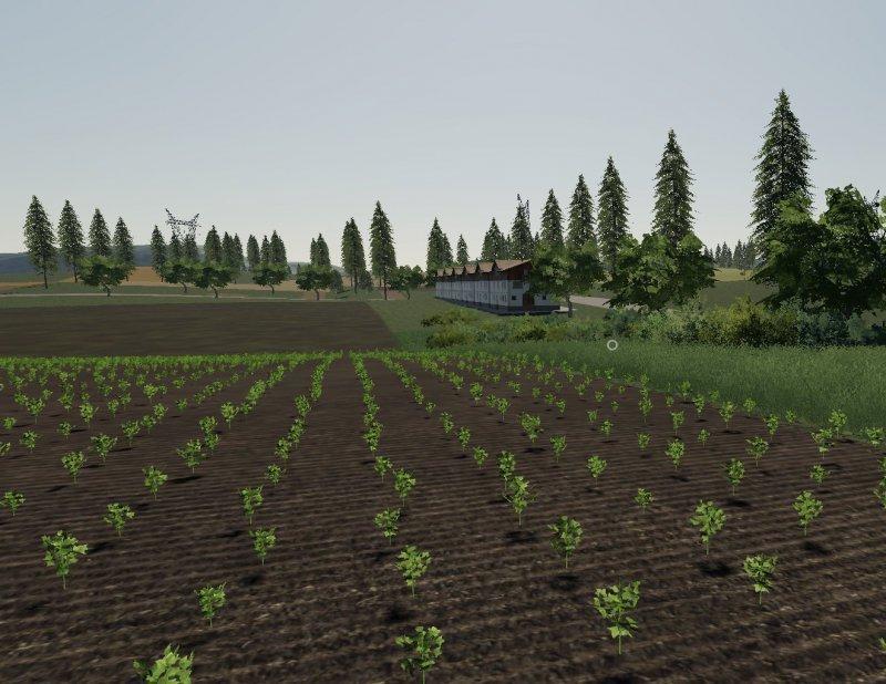 Мод Карта Wisniowo Map 2019 v 1.1 для Farming Simulator 2019